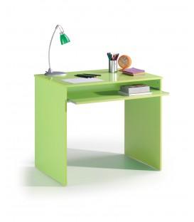 KIDS Mesa ordenador,acabado Verde